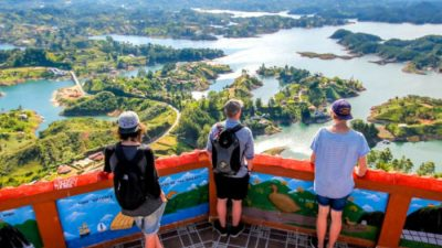 Bachelor Party in Medellín Colombia Guatape Tour
