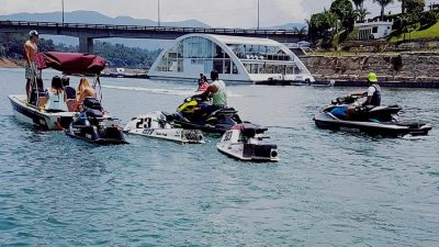 Bachelor Party Medellin Colombia Yatch Guatape Tour