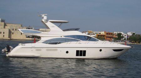 Cartagena Boat Rental Azimut 58