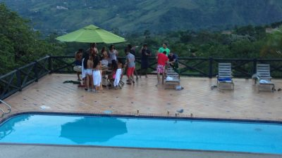 Bachelor Party in Medellín Colombia Pool Party