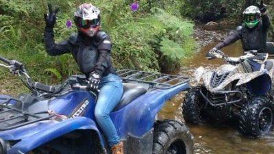 Bachelor Party in Medellín ATV Ride Tour