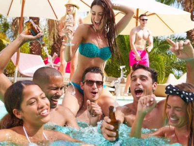 Colombia Cartagena Bachelor Party Guide Itinerary Pool Party