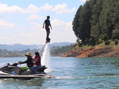 Bachelor Party Medellin Colombia Guatape jet Skis